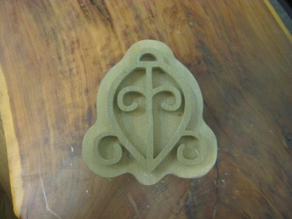Odo Nyera Fie Kwan, Adinkra Handmade wooden Stamp
