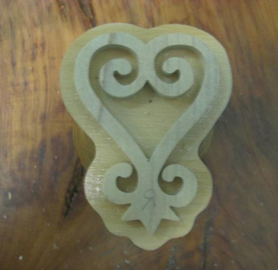 Sankofa, Adinkra Hand Crafted Wooden  Stamp