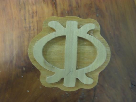Wawa Aba, Adinkra Handmade wooden Stamp