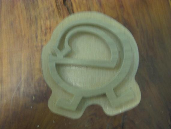 Sankofa2, Adinkra Hand Crafted Wooden Stamp