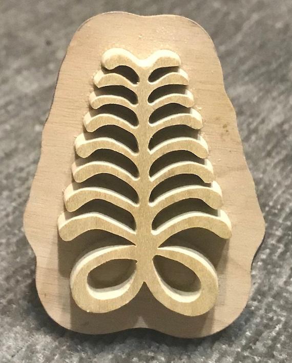 Aya, Adinkra Handmade wooden Stamp