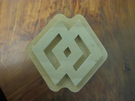 Epa, Adinkra Handmade wooden Stamp