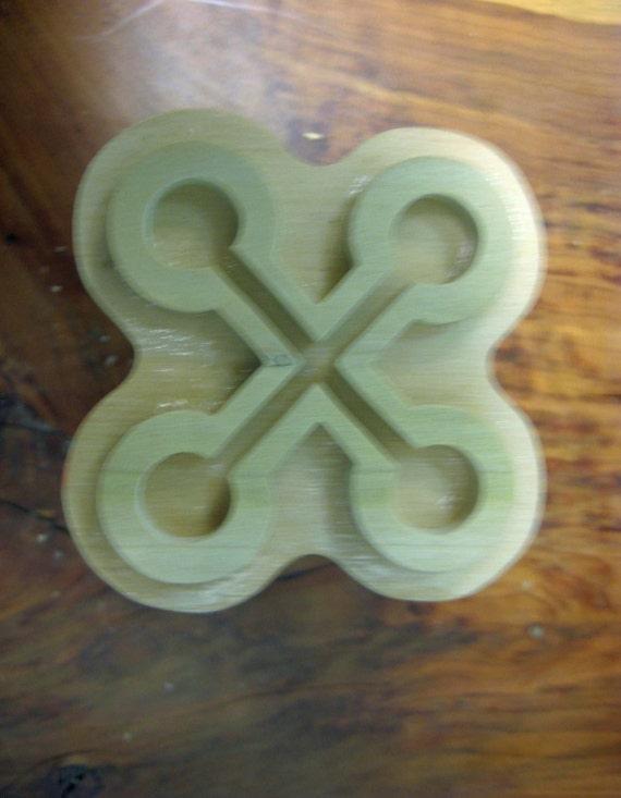 Nyame Nwu Na Mawu, Adinkra Handmade wooden Stamp