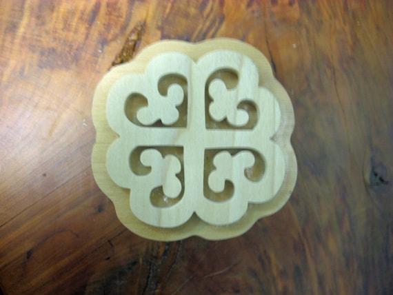Nyame Dua, Adinkra Handmade wooden Stamp