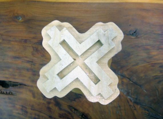 Aban, Adinkra Symbol, Handmade wooden Stamp