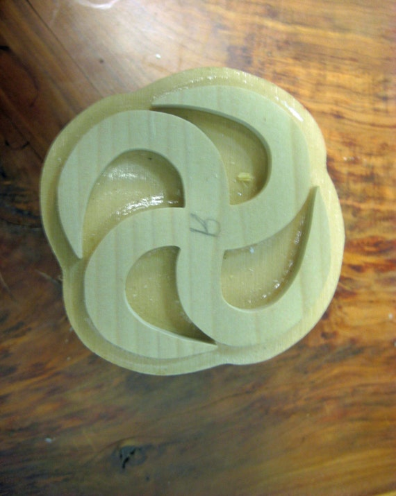 Nkotimsefo-mpua, Adinkra Hand Crafted Wooden Stamped