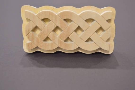 Celtic Handmade wooden Stamp
