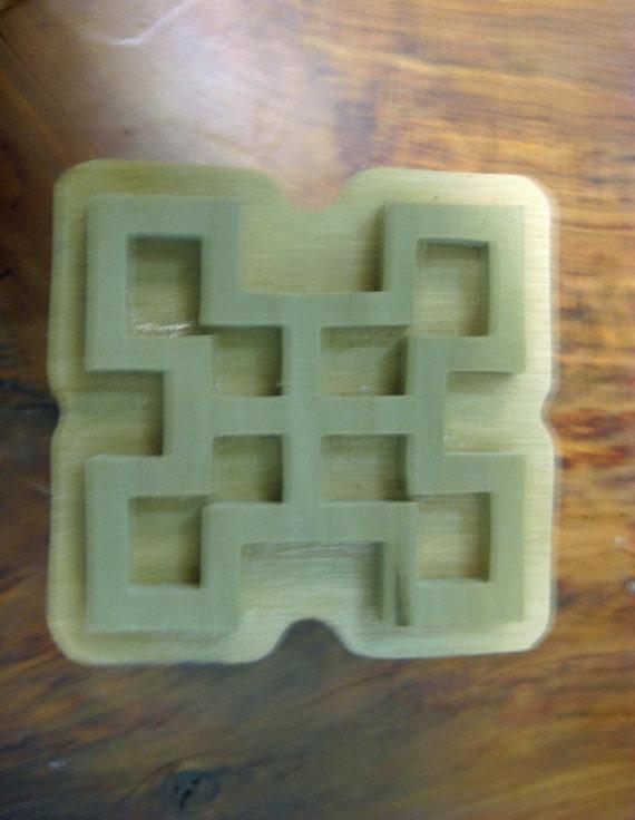 Nsaa, Adinkra Handmade wooden Stamp