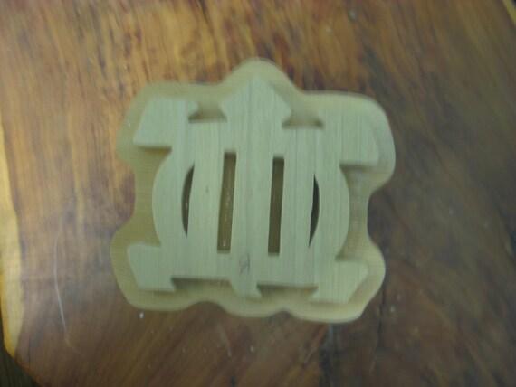 Odenkyem, Adinkra Hand Crafted Wooden Stamp