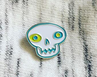 Skull Soft Enamel Pin