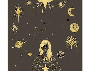 "GILDED Print ""When the Stars Align"""