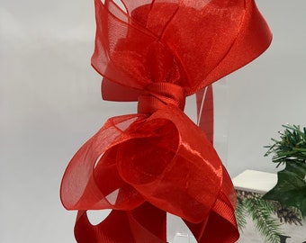 Red Big Bow Headband, Red Headband for Girls, Headband for Kids, Girls Hair Accessories, Red bow Headband, Christmas headband, big bows