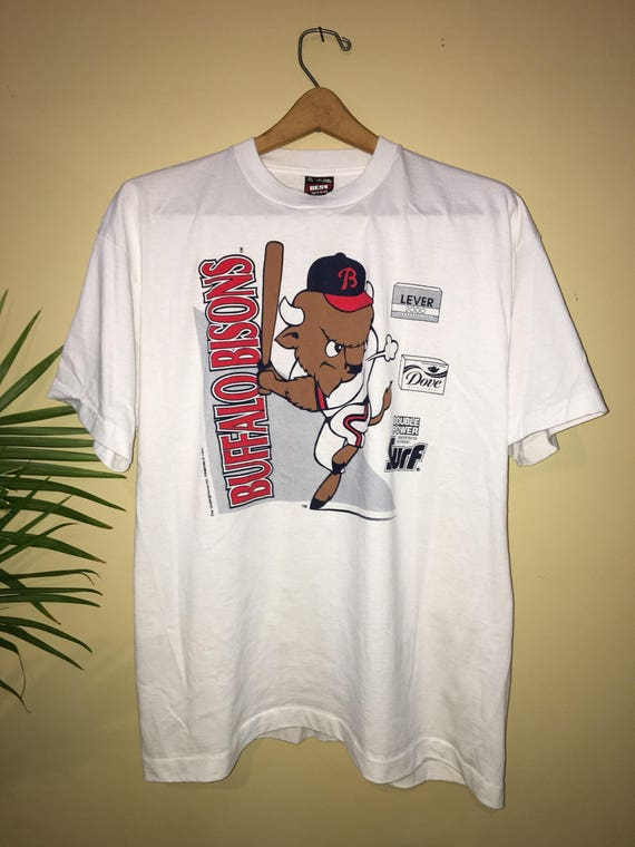 Vintage Buffalo Bisons t-shirt 1993 Size XL