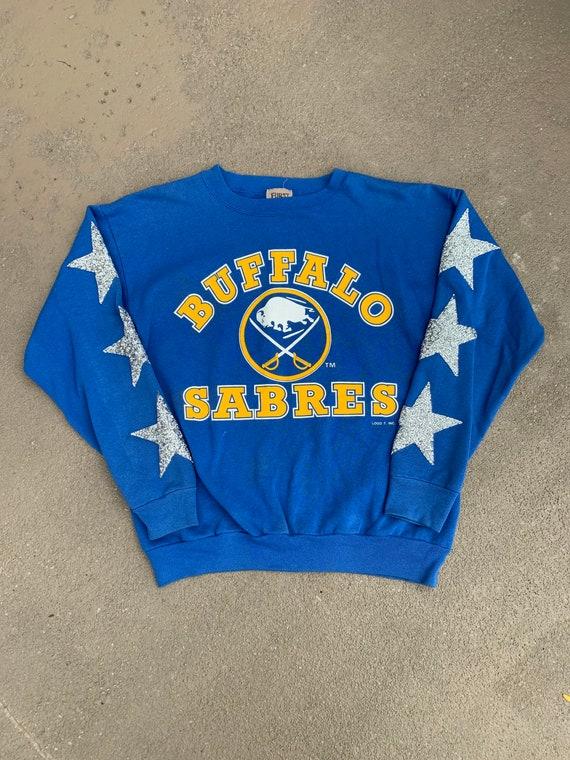 Vintage Reworked Buffalo Sabres NHL Crewneck Sweat