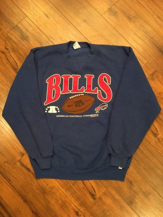 Vintage Buffalo Bills 1993 Crewneck Sweatshirt Large  565fe37ce