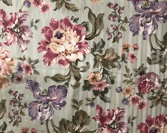 Mill Creek Fabric UpholsteryLarge Scale Floral 2 Yards