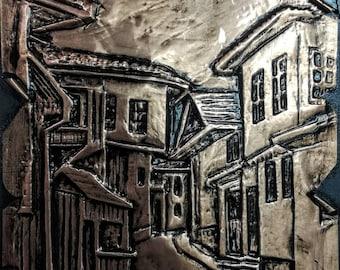 Sarajevo  Bosnia and Herzegovina Copper Handmade Decor