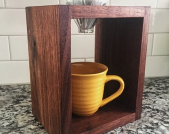 Pour Over Coffee Stand   Walnut