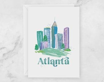Atlanta Greeting Card - Local At GA Postcard