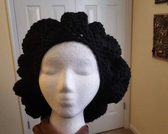 2 Color Tam-style Hat & Scarf Set