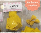 Shop accessories RAVIOLI for children's kitchen/merchant shop/accessories for shop