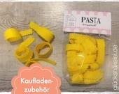 Shop accessories PASTA for children's kitchen/merchant shop/accessories for shop