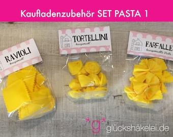 Shop accessories SET PASTA 1 children's kitchen/merchant's shop/accessories for shops