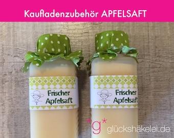 Shop accessories APFELSAFT children's kitchen/merchant's shop/accessories for shops