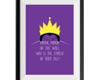 Little Mermaid Ursula Poor Unfortunate Souls Quote Minimal Etsy