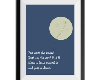 Lasso The Moon Etsy
