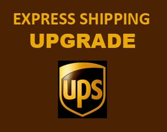 UPS EXPRESS shipping upgrade - contact tel  number MUST be provided!!!