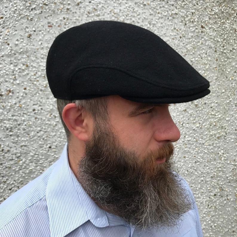 9272666ed3b46 Traditional Irish Flat cap-FREE WORLDWIDE SHIPPING-black
