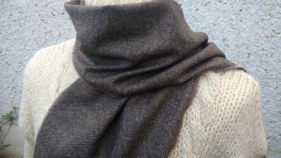 2ae00022674 Tweed irlandais laine écharpe livraison dans le monde entier