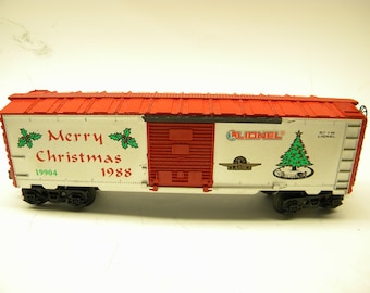 Lionel 19904 1988 Happy Holidays Christmas Box Car