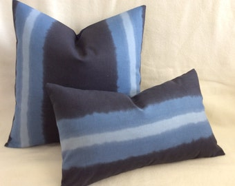 Ombré Designer Pillow Cover Set - Blue