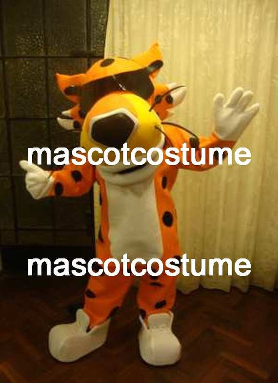 Cheetos Mascot Costume Cheetah Professional Special Chester Etsy