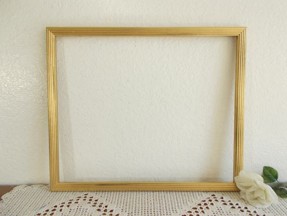 Vintage Gold Shabby Chic 14 x 17 Picture Frame Ornate Photo | Etsy