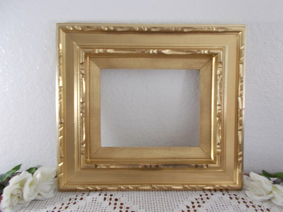 Ornate Gold Shabby Chic Picture Frame 8 X 10 Photo Or Canvas Etsy