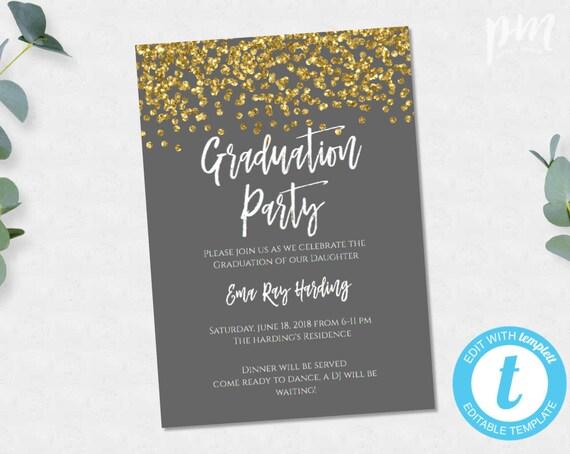 Graduation invitation personalized graduation invite etsy image 0 filmwisefo