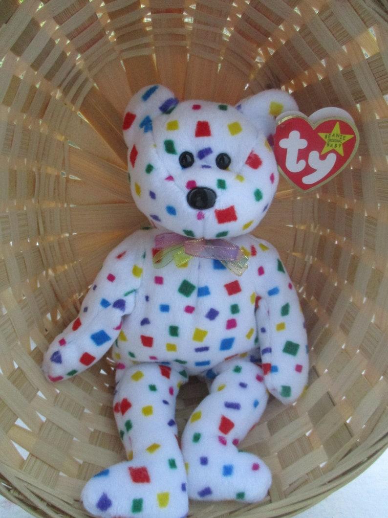 4b3827aa6b2 Ty Beanie Baby TY 2K Bear Original 1999 Error 2000 Millennium