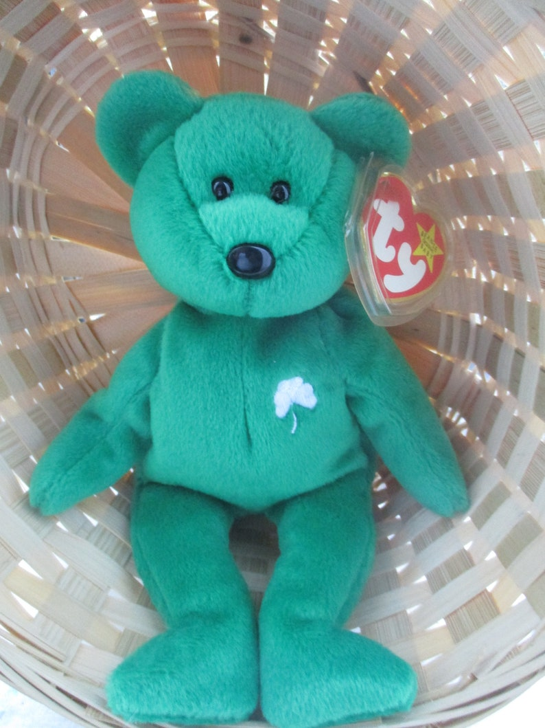 d8947e2b14e Ty Beanie Baby Erin The Bear 1997