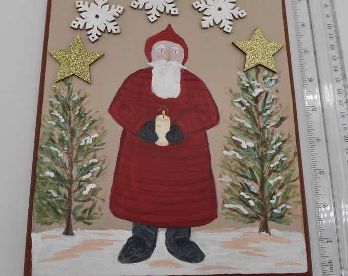 Hand-painted holiday plaques Item # 1194