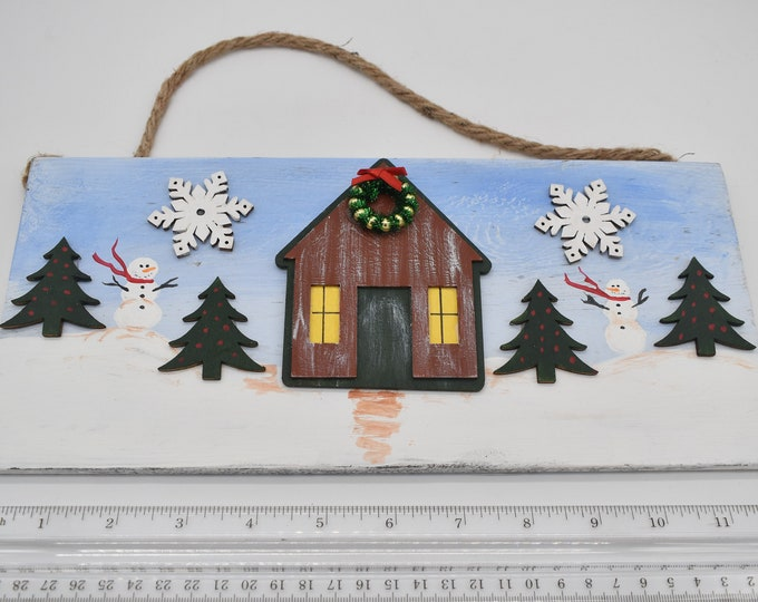 Hand-painted holiday plaques Item # 1200