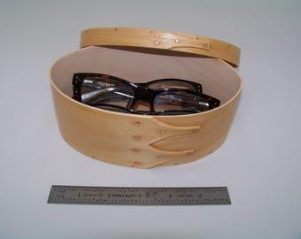 "Maple Shaker Box Size #3:  4 3/4"" x 7"""