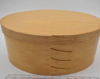 "Maple Shaker Box #8; size 10"" x 14 1/2"" :Item # 265"