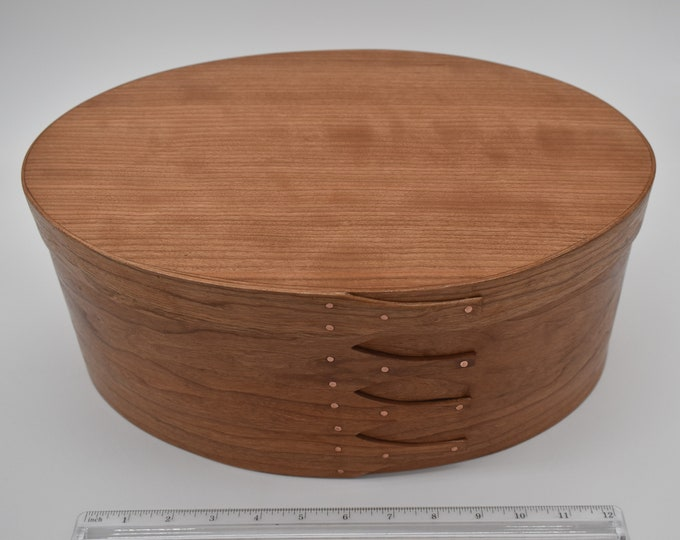 "Cherry Shaker Box #8; size 10"" x 14 1/2"" :Item #280"
