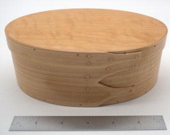 "Maple Shaker Box #3;  size 4 3/4"" x 7"" :Item # 2949"