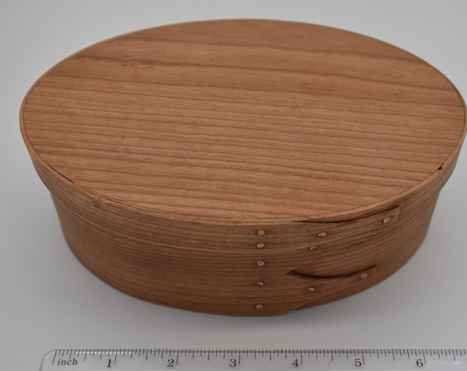 "Cherry Shaker Box #3 Size 4 1/2"" x 7"" Item #715"