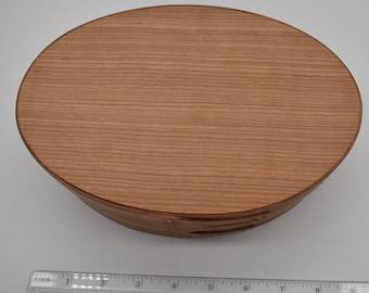 "Cherry Shaker Box #4; size 5 1/2"" x 8 1/4"" :Item #296"