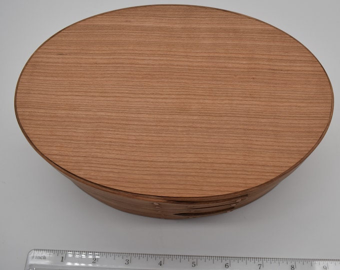 "Cherry Shaker Box #4; size 5 1/2"" x 8 1/4"" :Item #296"